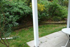 Terrasse Garten der Wohnung 3 ideal für den Hund