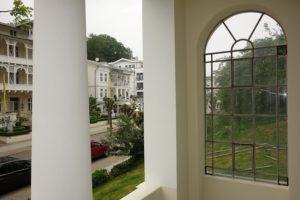 Blick von der Loggia Wohnung 2