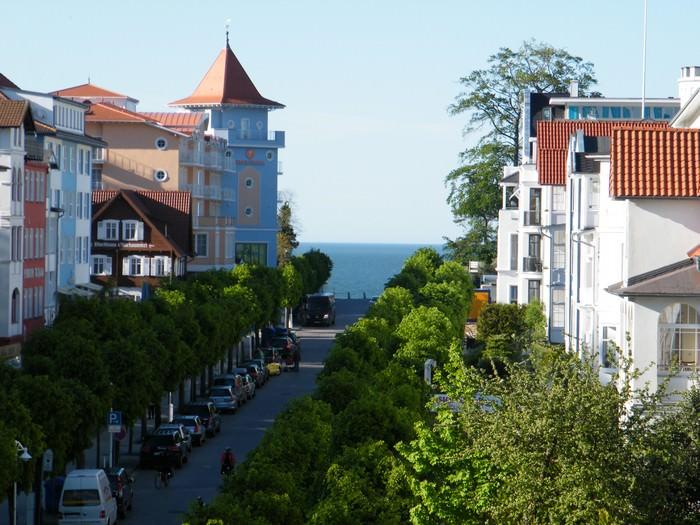 Ferienwohnungen sellin aussenansichten villa celia for Wilhelmstrasse sellin