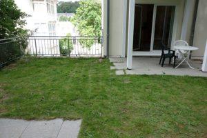 Garten und Terrasse Wohnung 4