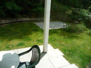 Terrasse und Garten Wohnung 4