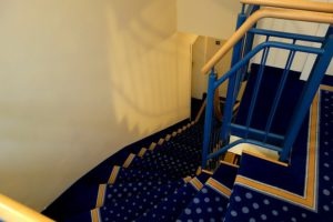 Treppenhaus in der Villa Celia
