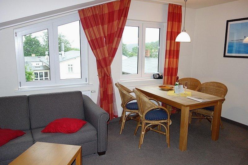 Wohn- Essbereich der Wohnung 12
