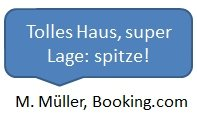 Bewertung Booking