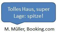Bewertung Booking
