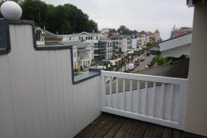 Blick von der Dachterrasse in Richtung Ostsee