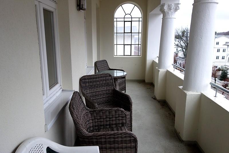 Loggia Wohnung 9