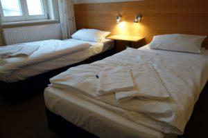 Schlafzimmer 2 mit Einzelbetten 90 cm * 200 cm.