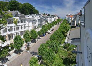 Blick von der Dachterrasse Wohnung 13 in Richtung Ostsee