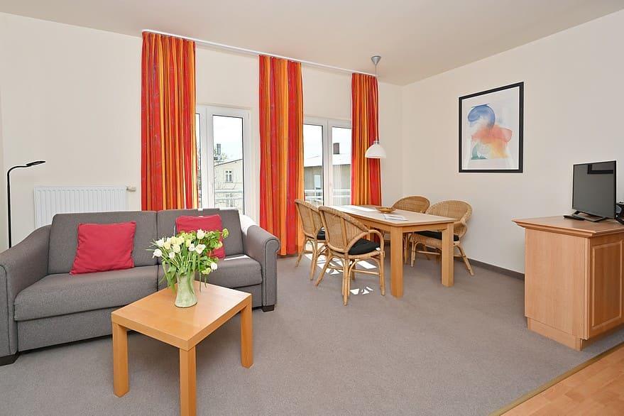 Wohn- Essbereich Wohnung 8